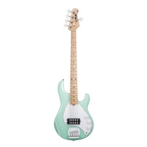 Contrabaixo 5C Music Man Sterling Sub Ray 5 Mint Green
