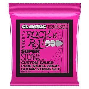 Encordoamento Ernie Ball Rock'n Roll .09/.42 para Guitarra