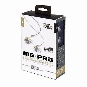 Fone De Ouvido Mee Audio M6 PRO Noise Isolating In-Ear Clear