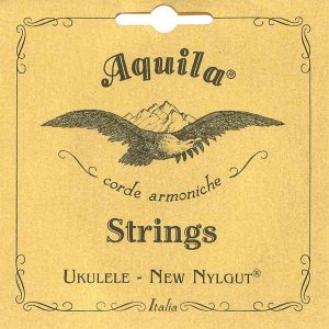 Encordoamento Aquila 5U New Nylgut Low G Ukulele Soprano