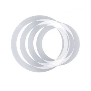 Abafador Music Phx DH1216 Muffle Rings em PVC para Bateria
