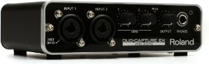 Interface de Audio Roland Ua-22 Duo Capture-Ex