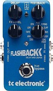 Pedal de Efeitos TC Electronic Delay Flashback