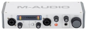 Interface de Áudio M-Audio M-Track MKII