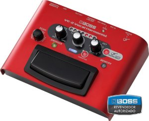 Pedal de Efeito Boss Vocal Processor VE2 para Voz