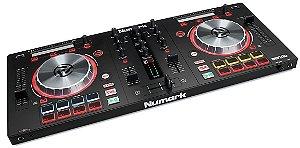 Controlador Numark Mixtrack Pro 3 Interface de Audio Serato Dj Intro