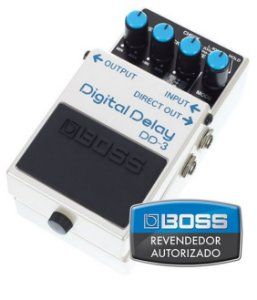 Pedal de Efeito Boss Digital Delay DD3 para Guitarra