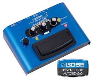 Pedal de Efeito Boss Vocal Echo VE1 para Voz
