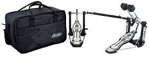 Pedal Duplo de Bumbo Mapex P501TW para Bateria com Bag