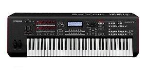 Teclado Sintetizador Yamaha MOXF6 com Fonte