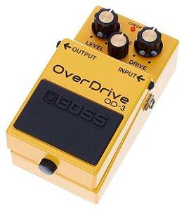 Pedal de Efeito Boss Overdrive OD3 para Guitarra