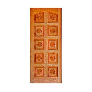 Folha de Porta Mista detalhe arco 10 almofada