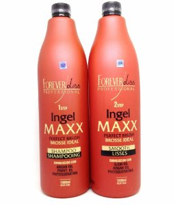 Forever Liss Escova Progressiva Ingel Maxx - Kit 2x1000ml