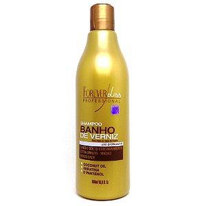 Forever Liss Shampoo Extra Brilho Banho de Verniz 500ml