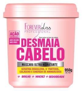 Forever Liss Máscara Desmaia Cabelo Anti Volume e Frizz- 950g