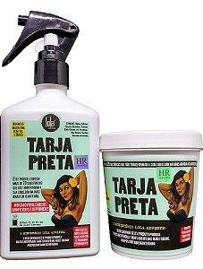 Tarja Preta Lola Cosmetics Kit tratamento Máscara e Banho de Queratina