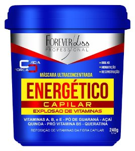 Forever Liss Máscara Energético Capilar - 240gr