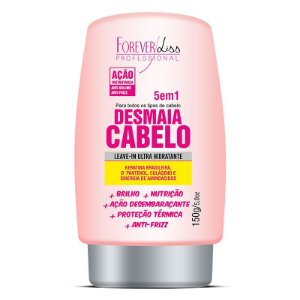 Desmaia Cabeloco Forever Liss leave-in Anti Frizz e Volume