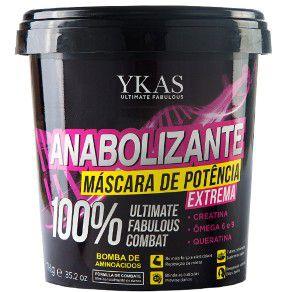 Ykas - Anabolizante Capilar Máscara de Potência Extrema - 450 g