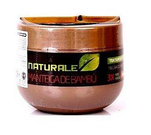 Naturale - Manteiga de Bambú Máscara de hidratação - 300g