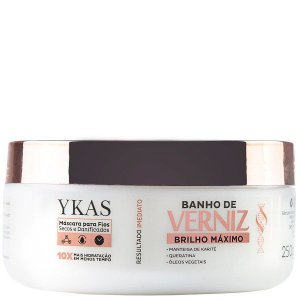 Ykas - Brilho Máximo Máscara Banho de Verniz 250g