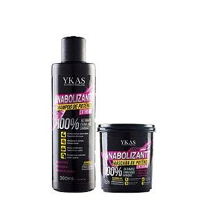 Kit Ykas - Anabolizante Capilar Shampoo e Máscara de Potência Extrema