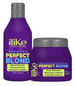 ILike Perfect Blond Kit Matizador Duo - 2 produtos