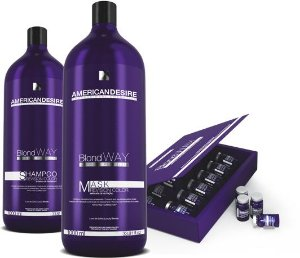Kit American Desire Blond Way Platinum trio