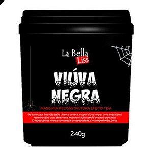 Viúva Negra La Bella Liss Máscara Reconstrutora  Efeito Teia - 240g