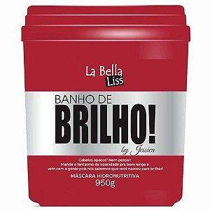 Banho de Brilho La Bella Liss Máscara Hidronutritiva 950G