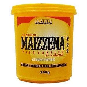 Maizzena Capilar Alisamento Natural Glatten - 240g