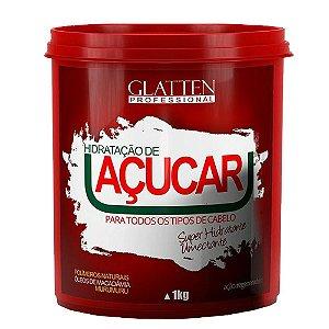 Máscara Hidratação de Açucar Glatten - 1kg