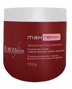Forever Liss Max Redux - Máscara Redutora de Volume 500gr