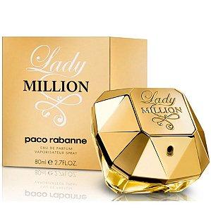 Perfume Lady Million 80ml Eau De Parfum - Paco Rabanne
