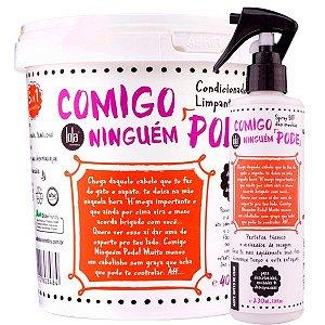 Lola Comigo Ninguem  Kit Condicionador e Protetor Térmico