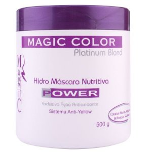 Magic Color Platinum Blond Hidro Máscara Nutritiva Power - 500 g