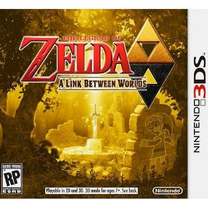 The Legend of Zelda - A Link Between Worlds - 3DS ( USADO )