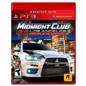 Midnight Club: Los Angeles Complete Edition - Ps3 ( USADO )
