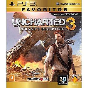 Uncharted 3 - Ps3 ( USADO )