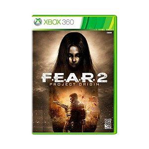 Fear 2 project origin - Xbox 360 ( USADO )