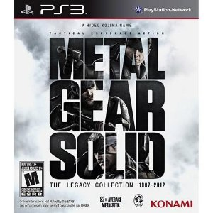 Metal Gear Solid: The Legacy Collection - PS3 ( USADO )