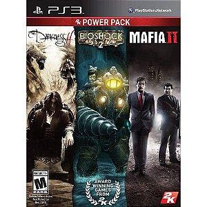 2k Power Pack  2 jogos / Bioshock 2 / Mafia 2 - PS3 ( USADO )