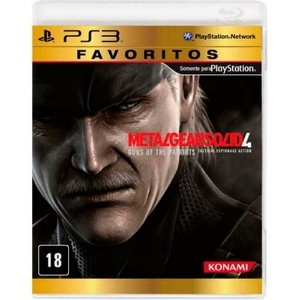 Metal Gear Solid 4 - PS3 ( USADO )