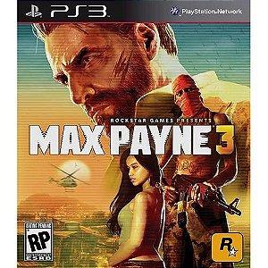 Max Payne 3 - PS3  ( USADO )
