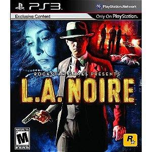 L.A. Noire - Ps3 ( USADO )
