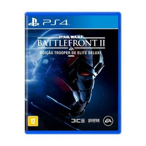 Star Wars Battlefront 2 Edição Trooper De Elite Deluxe - Ps4 ( USADO )