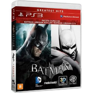 Batman: Arkham Asylum + Arkham City - PS3 ( USADO )