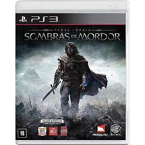 Terra-Média: Sombras de Mordor - PS3 ( USADO )
