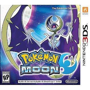 Pokémon Moon - 3ds ( USADO )