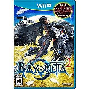 Bayonetta 2 - Com Bonus Bayoneta 1 - Wii U ( USADO )